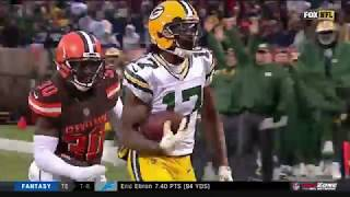Davante Adams Game-Winning TD! Packers vs. Browns | NFL