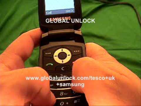 How to Unlock any Tesco UK Samsung Phone
