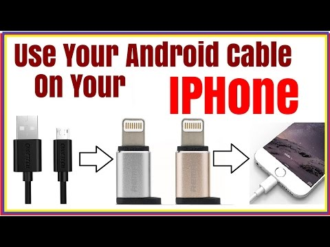 Remax Apple Lightning Converter Review /// Use Your Android  Phone Cable On Your Iphone
