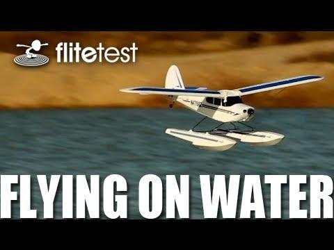 Flite Test - Horizon Hobby Flying On Water - FLITE TIP