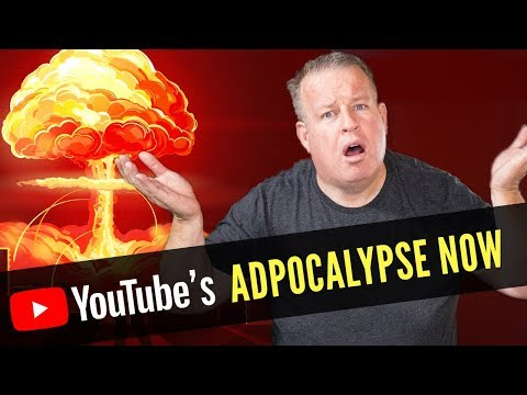YouTube is Deleting Channels - Adpocalypse Now