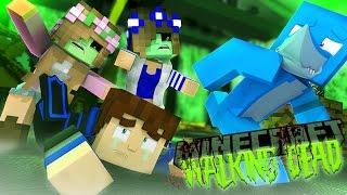 Minecraft THE WALKING DEAD - NEGAN IS MAKING LITLLE KELLY ZOMBIE CLONES