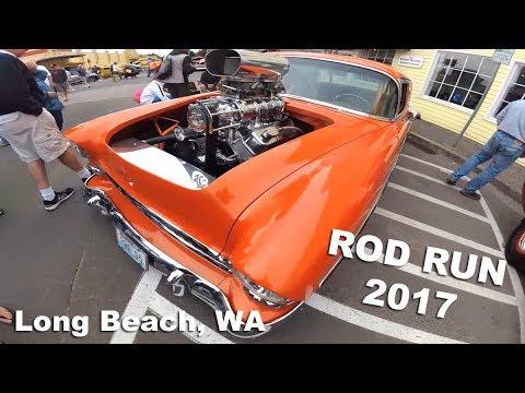 Rod Run 2017 - Long Beach, WA