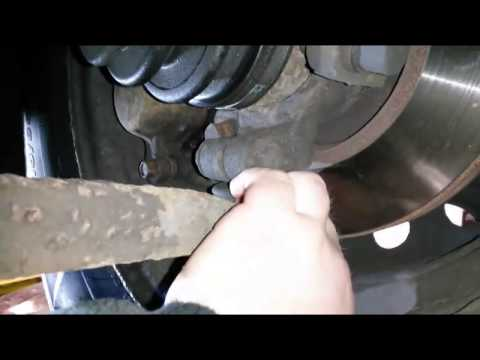 Worn Lower Ball Joint
