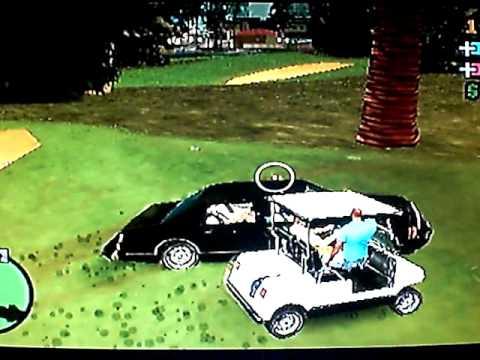 Grand Theft Auto Vice City Stories (GTA VCS, PSP - Cheatdevice) - Caddy Driveby's