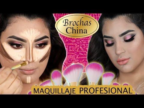 Con Brochas Chinas Tutorial de maquillaje Profesional - roccibella