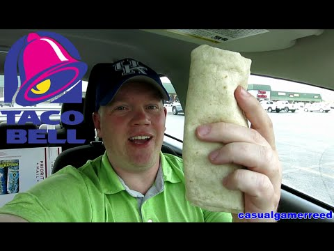 Reed Reviews Taco Bell Shredded Chicken Burrito