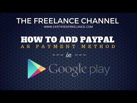 How to Add PayPal as Payment Method in Google Play Store