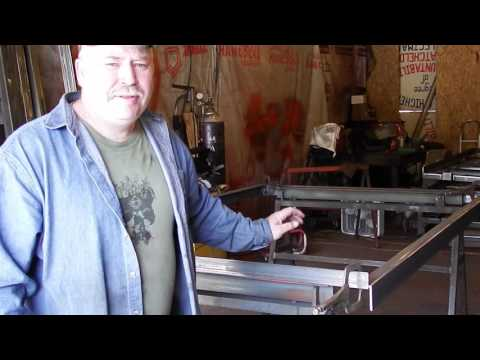 Deckover 5'X8' Trailer Build Part 1 And Sawhorses explained