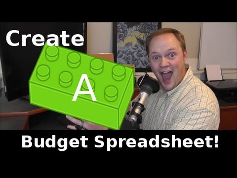 How to Create a Budget Spreadsheet 2017