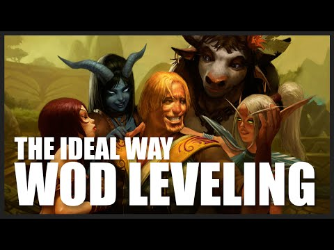 The Best Way To Level: 90-100, 4000g & Salvage Yard in 4 hours (WoD 7.0.3) World of Warcraft