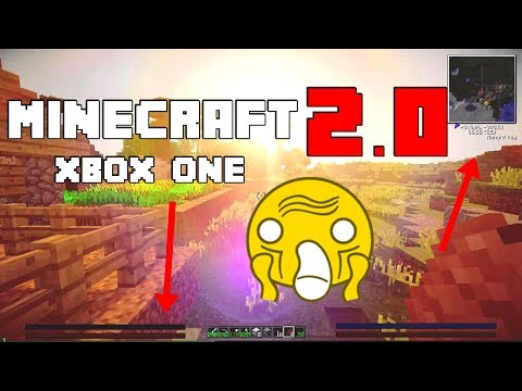 Minecraft 2.0 / Better Together On Xbox One! W/DOWNLOAD