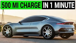 Fisker claims 1 minute to charge a 500 mile EV battery