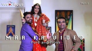 Radhe Maa Ka Video, Spoof, Radhe maa caught on camera getting ready ,Pure and Pious