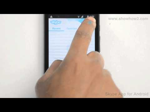 Skype Android App - How To Add Your Mobile Number