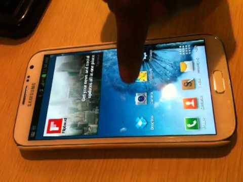 How to capture screenshot in Samsung Note 2
