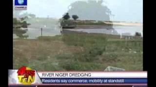 River Niger Dredging:Community appeals for Agenebode-Idah link bridge