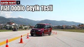 Fiat Doblo Geyik Testi!   Yeteri kadar dengeli mi?