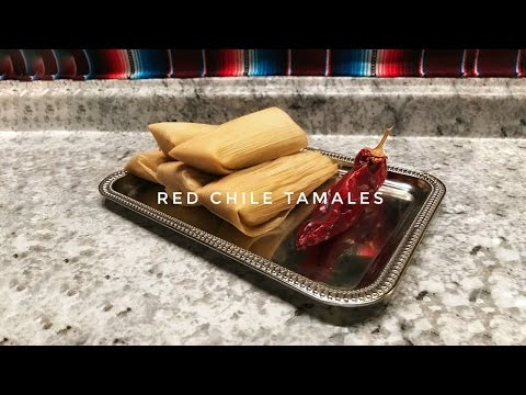 Red Chili Tamales! How to Make Homemade Pork Tamales. Full Recipe