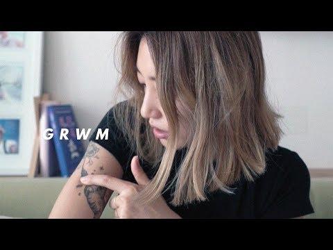 GRWM + TRAVEL POUCH | dahyeshka