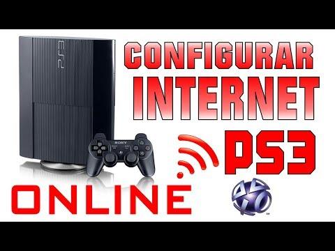 Como conectar su PlayStation 3 PS3 a Internet por WiFi o Cable de Red