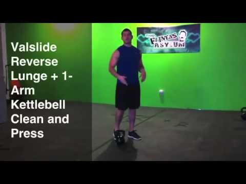 Combining the Valslide and the Kettlebell to Burn Fat and Build Muscle
