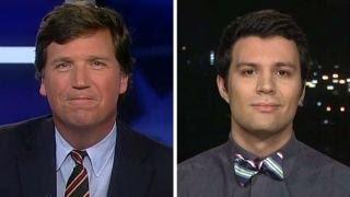 Tucker v student who says Trump shouldn
