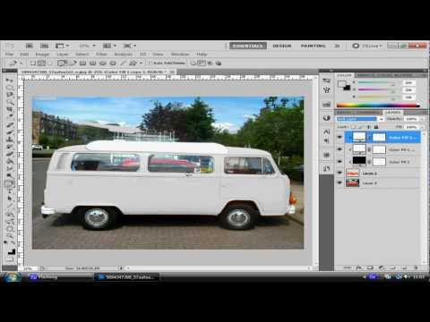 Photoshop Tutorial: Changing Vehicle Colour To White
