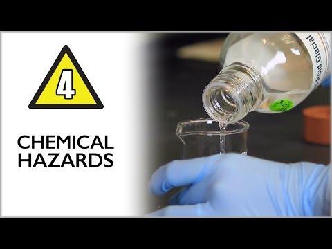 Chemical Hazards / Lab Safety Video Part 4