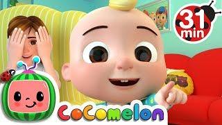 Peek a Boo Song | +More Nursery Rhymes & Kids Songs - ABCkidTV