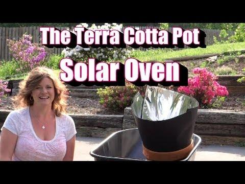 The Terra Cotta Solar Oven! Repurposing a Pot / Container