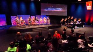 Furious 7 | trailer launch party Los Angeles (2015) Vin Diesel Dwayne Johnson