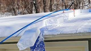 Removing Snow Off Roof