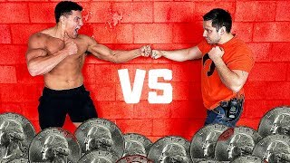 Download You BLEED You LOSE 2 - Bloody Knuckles Competition *PAINFUL* | Bodybuilder VS Normal Guys Video