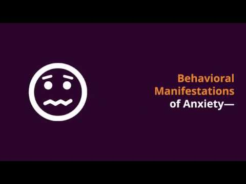 Behavioral Manifestations of Anxiety in Kids on the Autism Spectrum