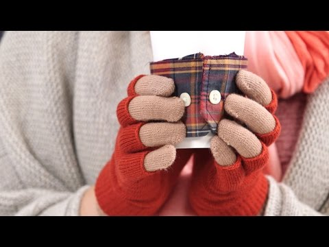 No-Sew Flannel Drink Sleeve | Southern Living