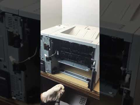 Change Fuser for hp p3015 series printer