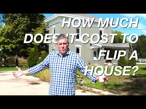 How Much Does it Cost to Flip a House?