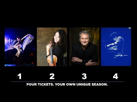 Compose your own season with a four-concert flex pack!