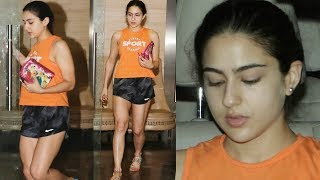 Sara Ali Khan Spotted In Hot Shorts