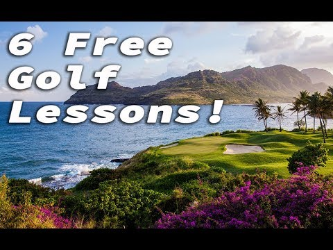 Want 6 FREE Online Golf Lessons?