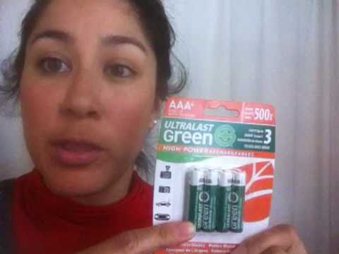 Rechargeable batteries: a no brainer