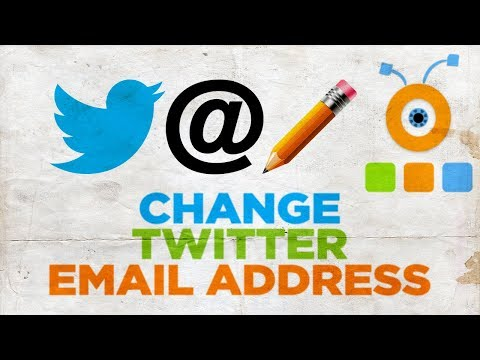 How to Change Twitter Email Address