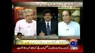 Javed hashmi exposing Khawaja Asif
