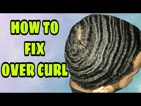 360 WAVES HOW TO FIX OVER CURL NATURAL HAIR WAVES SUMMER METHOD