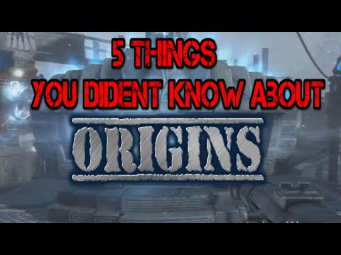 5 Things You Dident Know About Origins!!!!!!