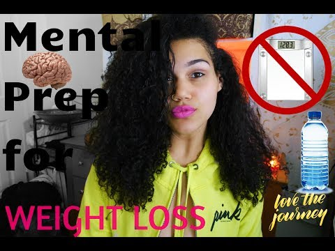 How to Mentally prepare yourself for weightloss