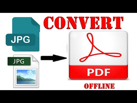 How To Convert JPG To PDF Without Software  l  Convert JPG (Picture) Into PDF File
