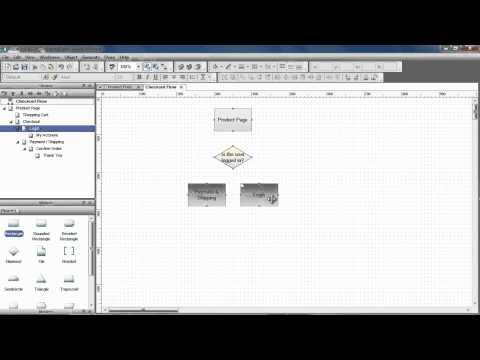Flow Diagrams & Sitemaps - Axure