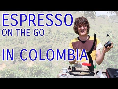 Espresso on the go - Los Palomos, Colombia